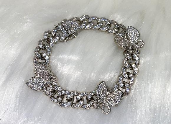 ICE Silver Butterfly Bracelet