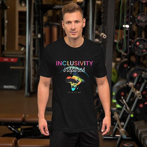 Limited Edition || Unisex/Men's T Shirt || Inclusivity Inspires || Clean Print