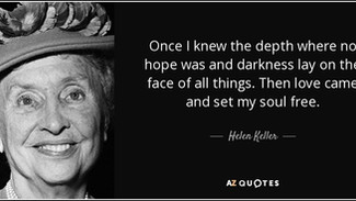 Hope. In the face of it all, hope. #humanism