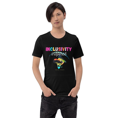 Limited Edition || Unisex/Men's T Shirt || Inclusivity Inspires || Bold Print