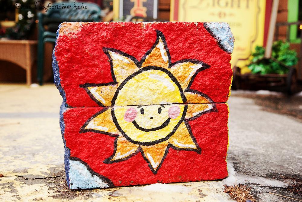Smile in a sun