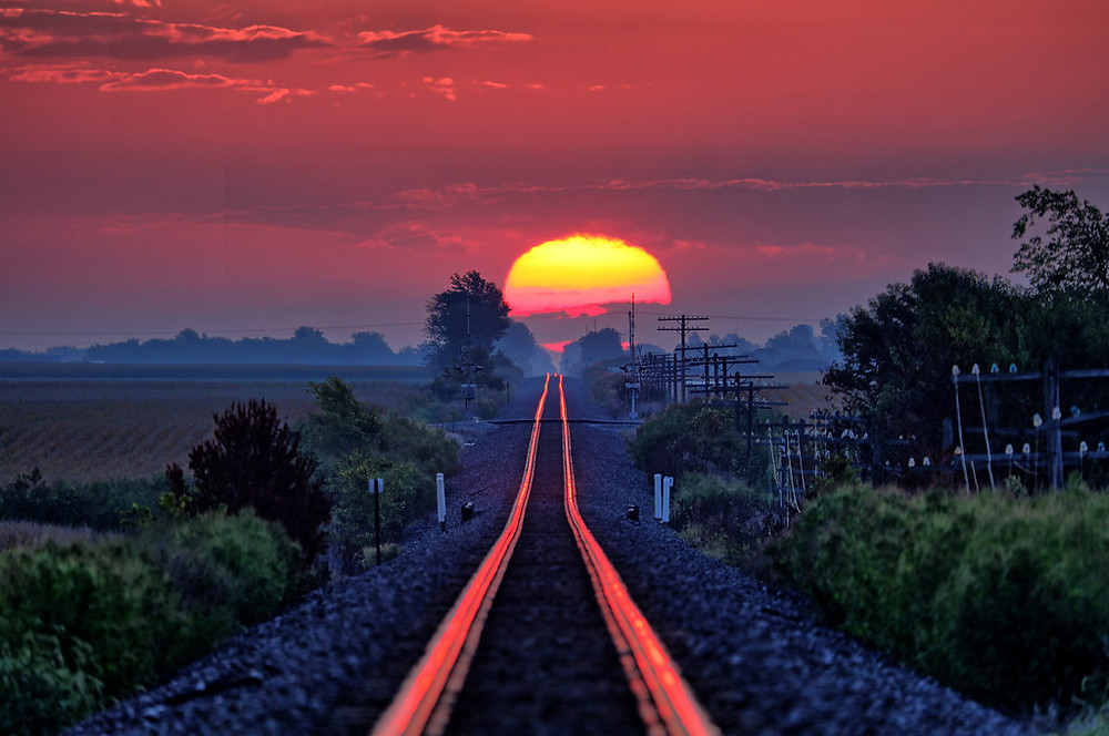 Sunshine on Rails by Ray Cunningham