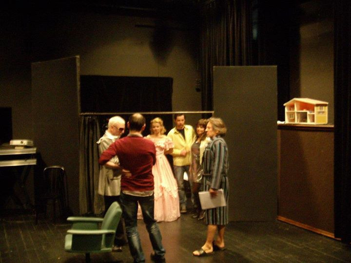 Facebook - P's rehearsal at Nowy Theatre