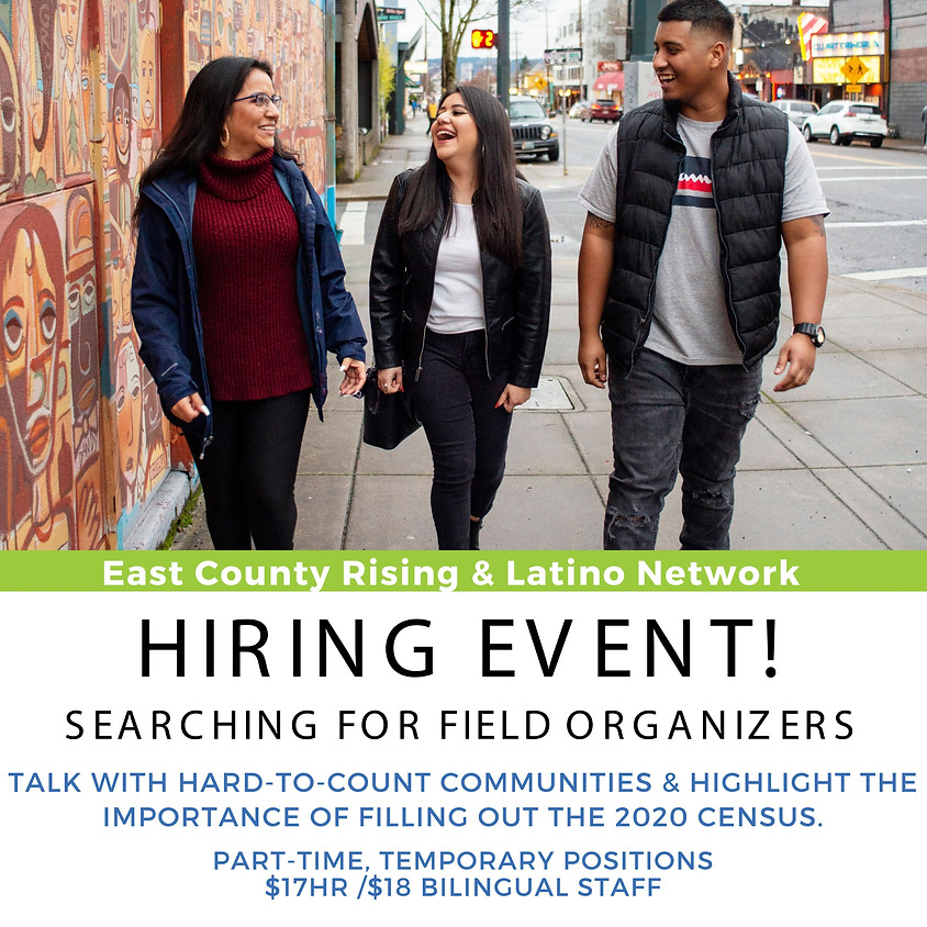 East County Rising & Latino Network Hiring Event!