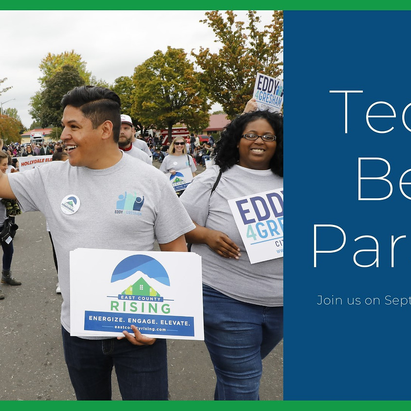 March with ECR in the Teddy Bear Parade
