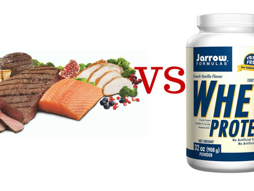 Protein Food vs. Protein Supplements