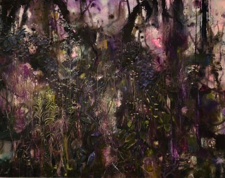 Purple plant life