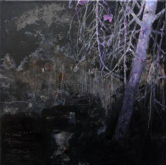 Shining tree (landscape scetch)