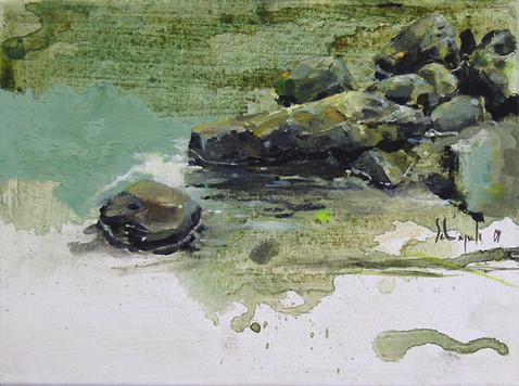 Steine am Wasser I