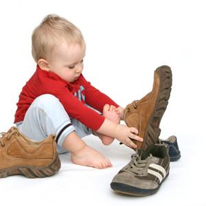 Chaussures et posture chez les tout petits