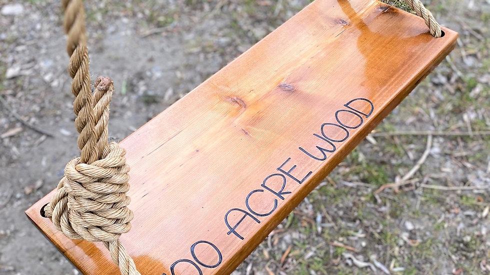 100 Acre Wood Wood Tree Swing