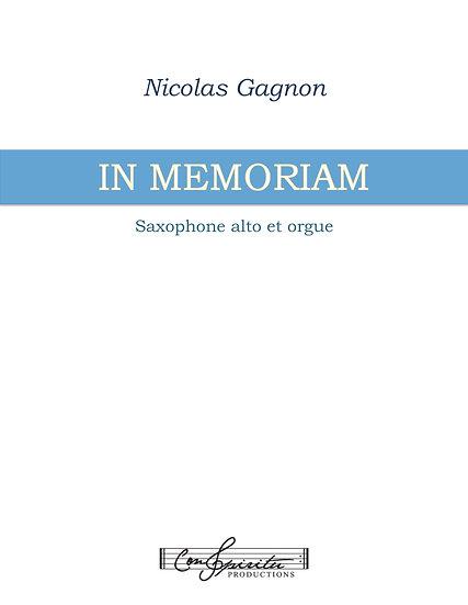 In Memoriam (saxophone alto et orgue)