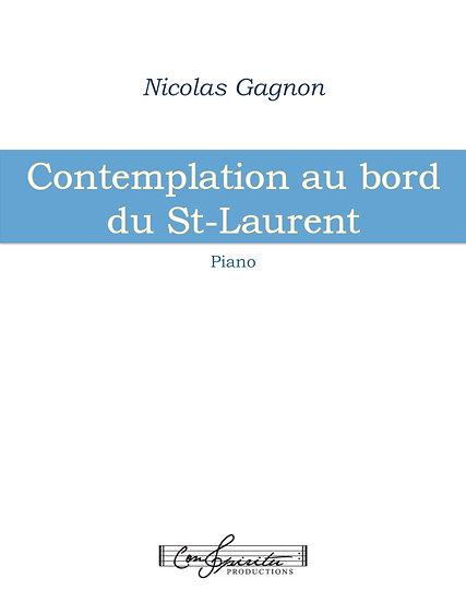 Contemplation au bord du St-Laurent (piano)