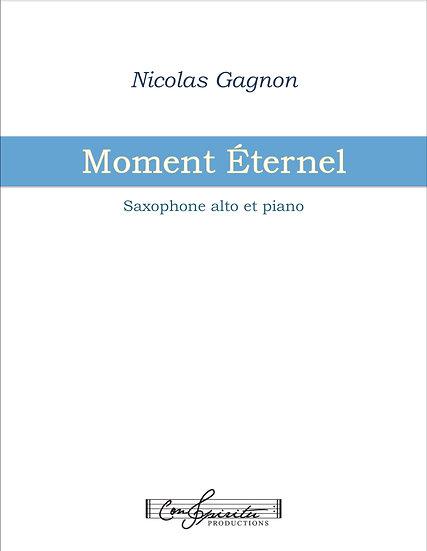 Moment Éternel (saxophone alto et piano) - PDF