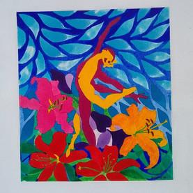 Dancers & Lilies 1
