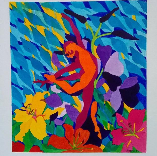 Dancers & Lilies 2