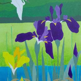Iris & Egret
