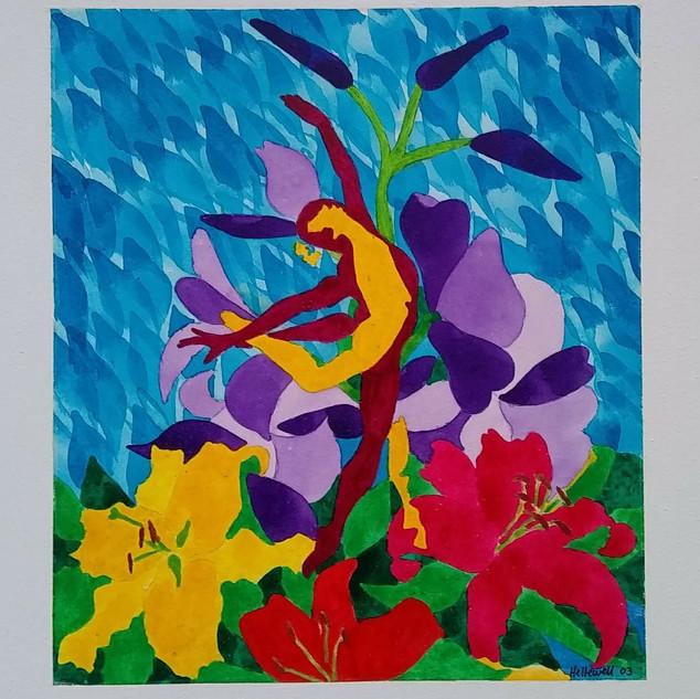 Dancers & Lilies 3