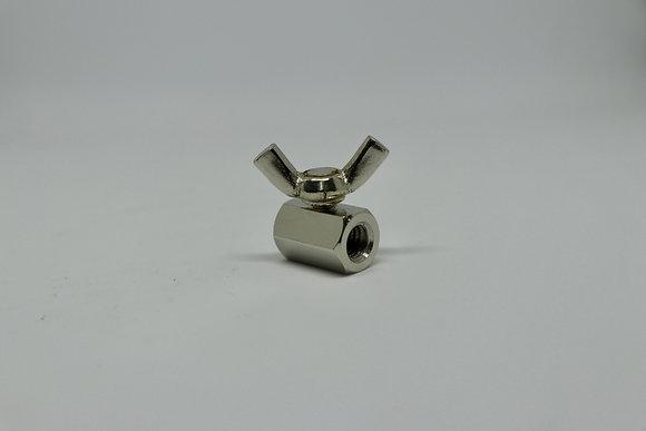 RH-043 4mmメッキ6角ストッパーS