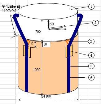 RH-502 1.51kg再生料製コンテナバック角型 バージン(10枚入)フレコンバック 1tタイプ  反転ベルト付  廃棄物の運搬・保管