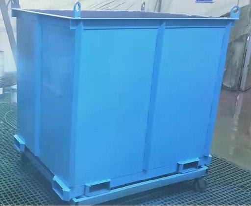 RH-096 産廃鉄箱 1.5立方メートル 超頑強・激安産廃ボックス