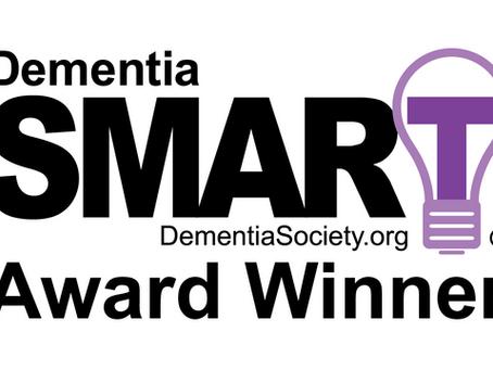 The Dementia Society Announces SingFit® Platform as Recipient of Dementia SMART® Award