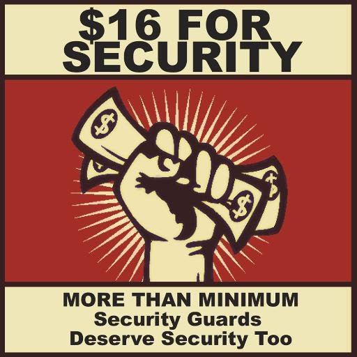 YOU AND I CARE ABOUT GUARDS (AND THEIR WAGES)