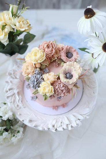 Masterclass Kvety z kórejského maslového krému 2. Sobota 5.6. o 9:00