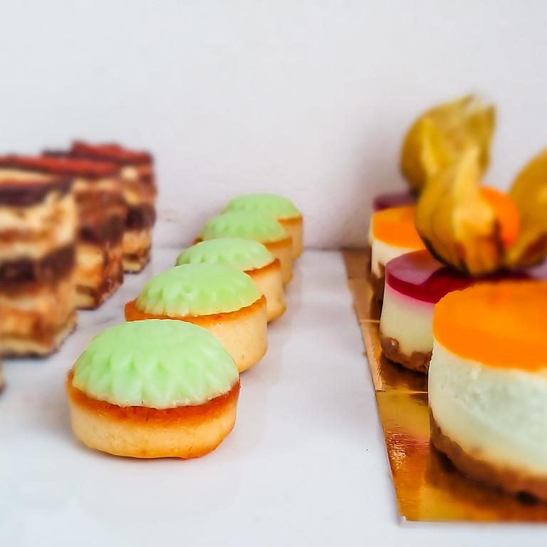 Francúzske dezerty - petit four