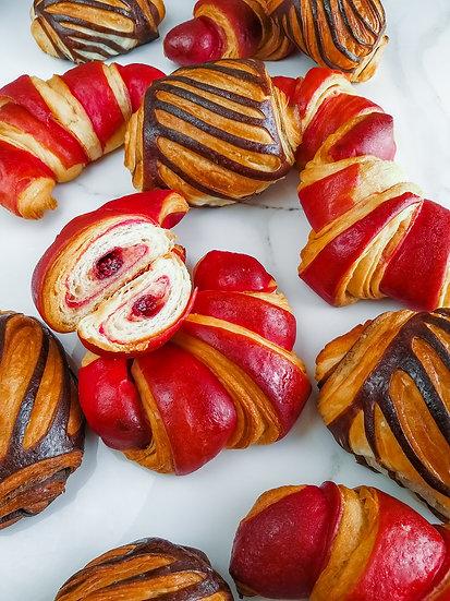 Francúzske klasické aj farebné croissanty, 28.11. sobota, 10:00