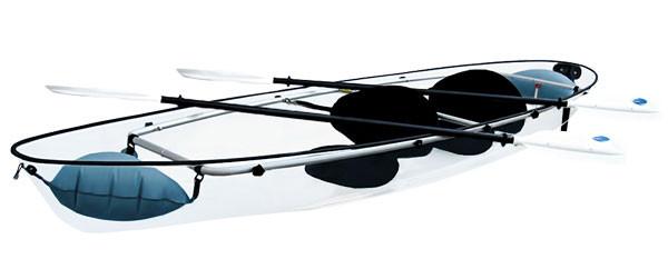 kayak transparent