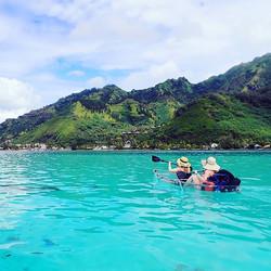 Venez admirer Moorea depuis nos kayaks t
