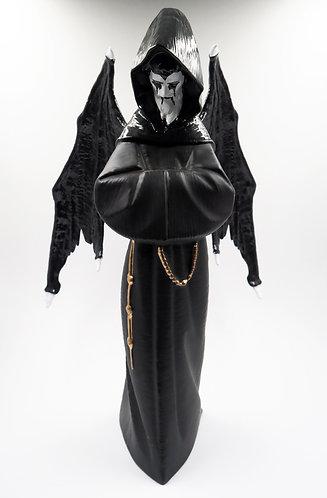 """Medival Demon Monk"" Ceramic Figurine"