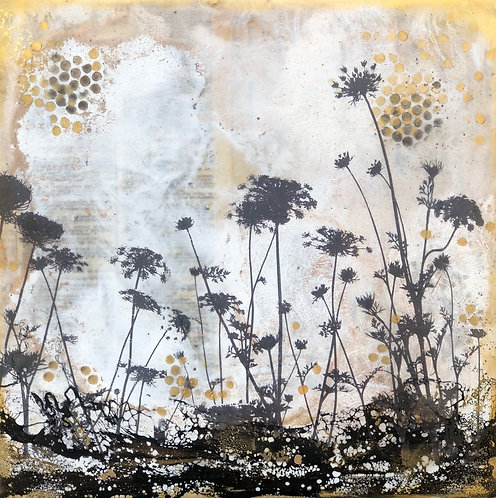 """""""What if we could...."""" Encaustic Painting"""