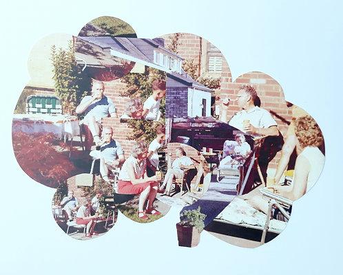 """Summer Picnic 1961 #2"" Analog Collage"