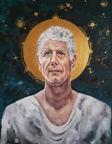 """Saint Anthony"" Fine Art Print | Artist: Aleksandra Apocalisse"