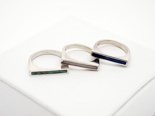 Stackable Ring - 3 Colors  / KSJ - Kendra Studio Jewellery