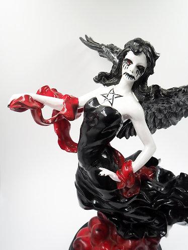 """""""Dark Angel"""" Ceramic Figurine"""