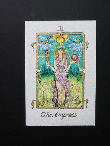 """""""The Empress"""" Original Painting"""