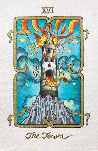 """The Tower"" Original Painting"