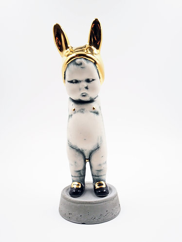 Golden Boy BunBun Sculpture Figure