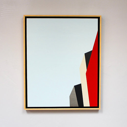 """Los Angeles 66"" Original Contemporary Painting"