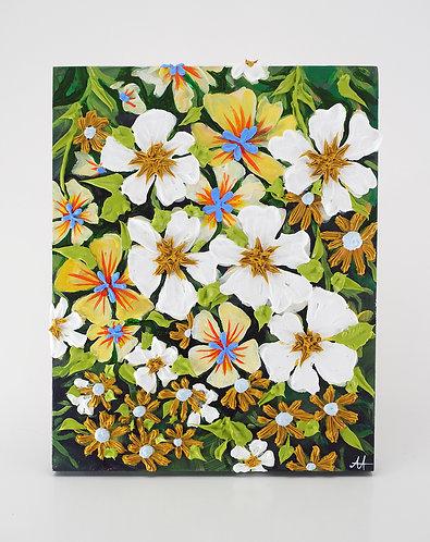 Yellow & White Garden Blooms / Anisa Asakawa