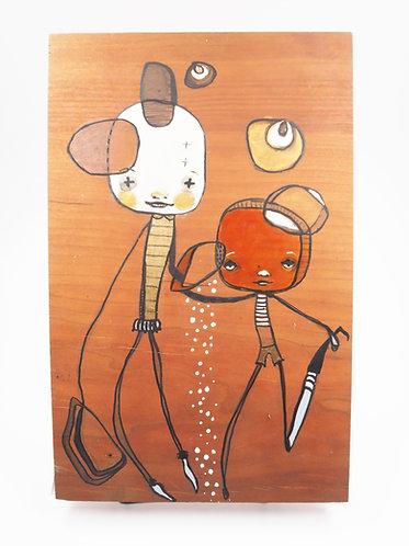 """Tangle, Untangle, Disentagle"" Original Painting"