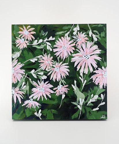 Pink & Green Blooms / Anisa Asakawa