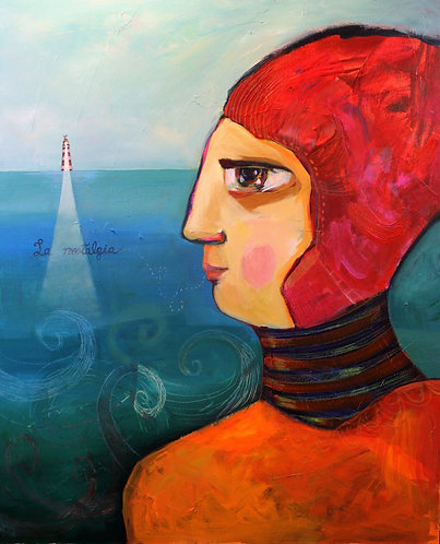 """""""Nostalgia"""" Acrylic Painting"""