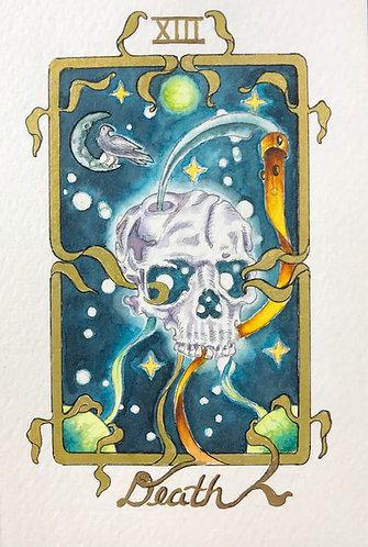 """""""Death"""" Original Painting"""