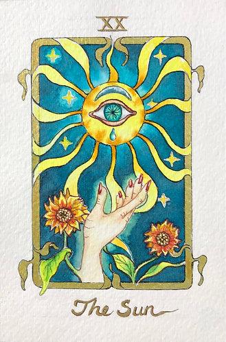 """The Sun"" Original Painting"