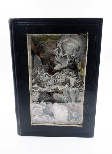 """""""The World Book No. 5"""" 3-D collages"""