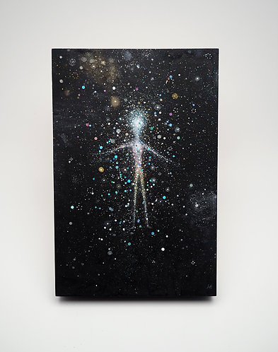 """Light Body"" Original Watercolor Painting"